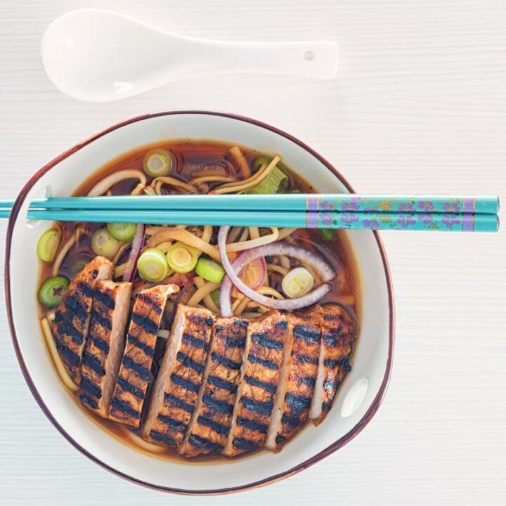 Spicy BBQ Pork Ramen