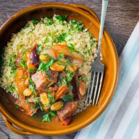 Duck Tagine With Almonds