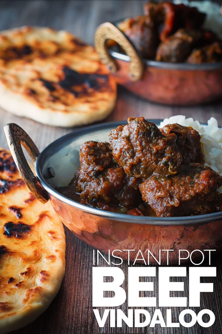 This Beef Vindaloo is my take on the Anglo Indian Vindaloo which is a take on the Indo Portuguese classic from Goa, who said fusion food is new? #curry #indianfood #authenticbeefvindaloo