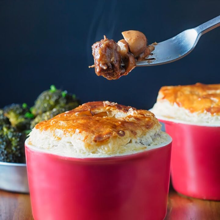 Winter Warming Beef and Ale Pie