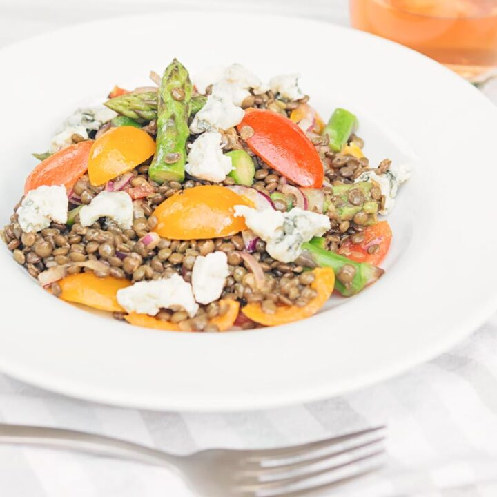 Lentil and Asparagus Salad