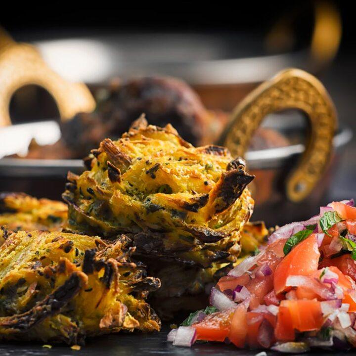 Air Fryer Onion Bhaji Recipe