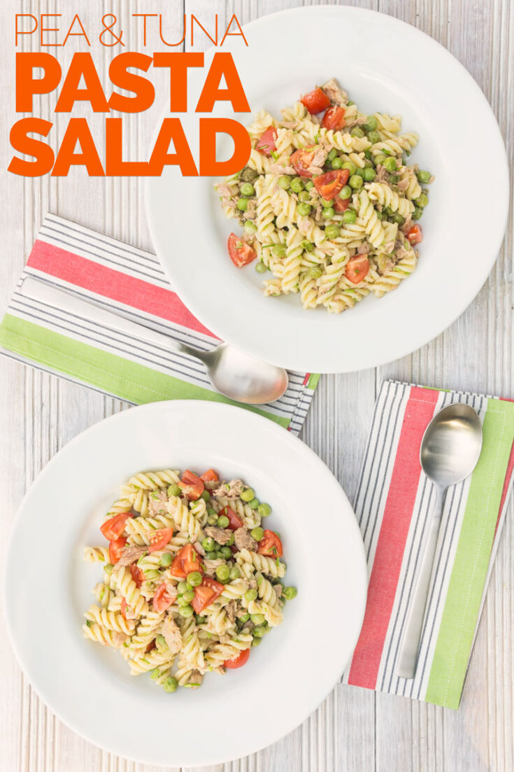 A tuna pasta salad is a perfect recipe to throw in a lunch box for work or school, a picnic or even a side for a BBQ. This version contains no mayonnaise but instead has a bright and vibrant lemon vinaigrette.#tunapastasalad #tunapastasaladrecipescold #pasta #pastasalad
