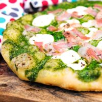 Rocket Pesto Pizza