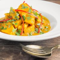 Easy Chickpea and Sweet Potato Curry Recipe