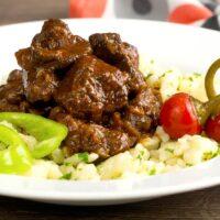 Marha Porkolt Hungarian Beef Stew