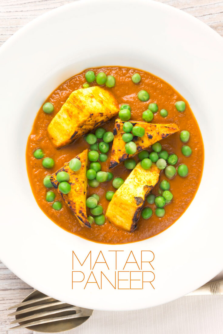 My take on a Matar Paneer is very much influenced by the ideas behind a chicken tikka masala. Cooking the paneer separately allows us to supercharge the flavours in this classic vegetarian curry. #MutterPaneerrecipe #vegetarian #paneer #curry