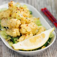 Quick and Easy Salt and Pepper Squid With Pickled Cucumber