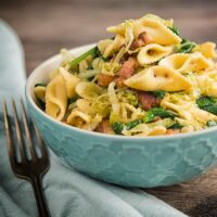 Recipe for Bacon and Cabbage Pasta