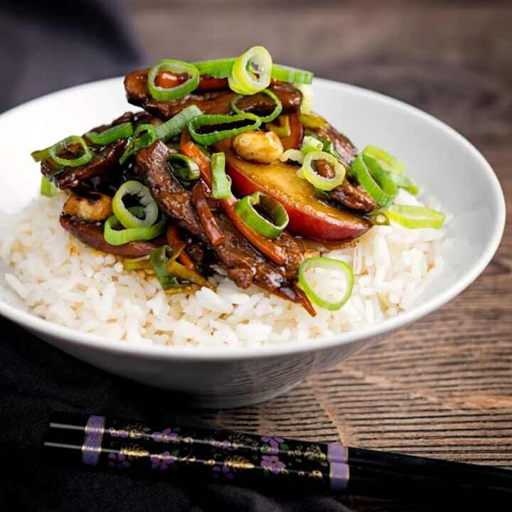 Duck Stir Fry Recipe With Plums