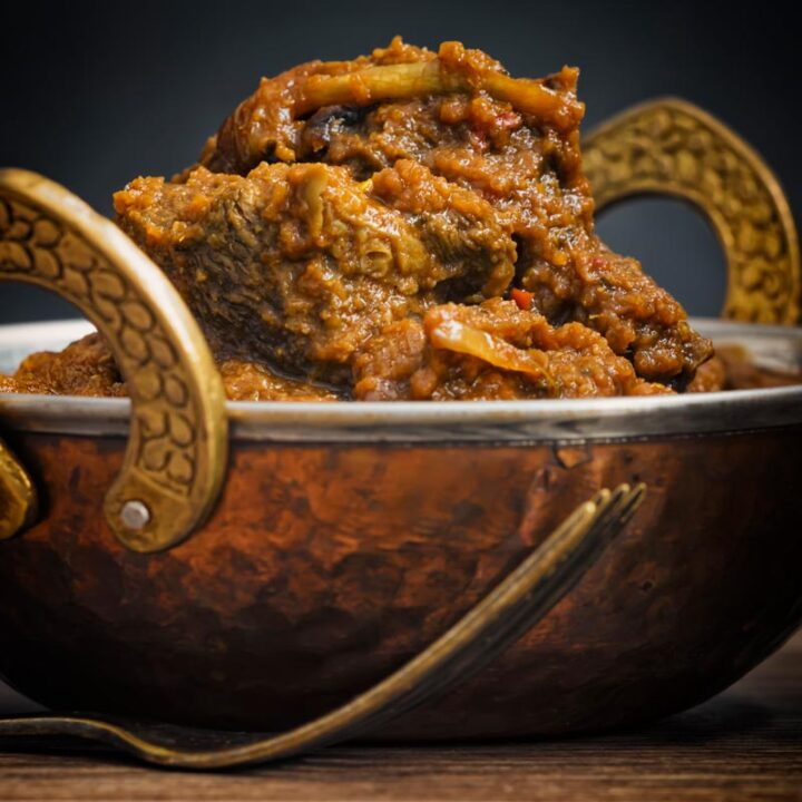 Recipe for a Beef Dopiaza Curry