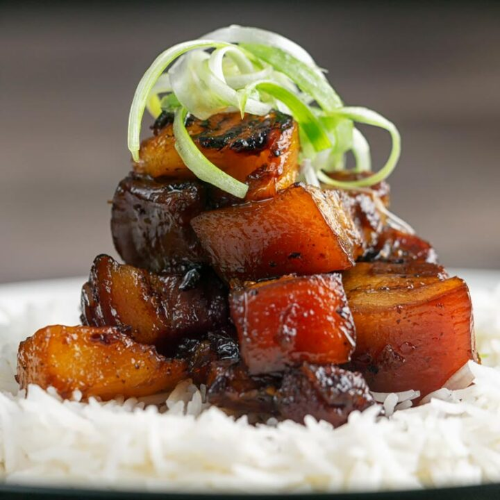 Spicy Sticky Pork Belly Recipe