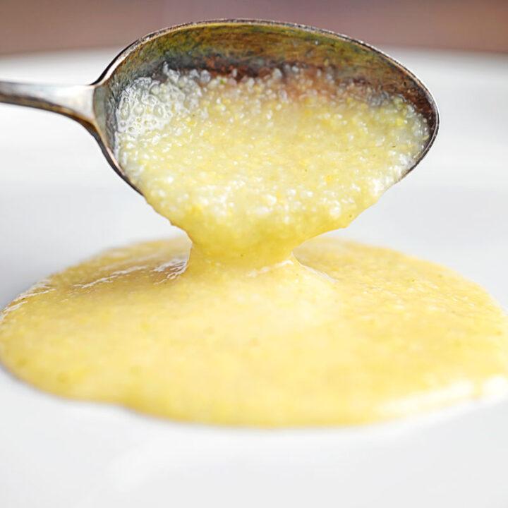 Cheesy Polenta Recipe