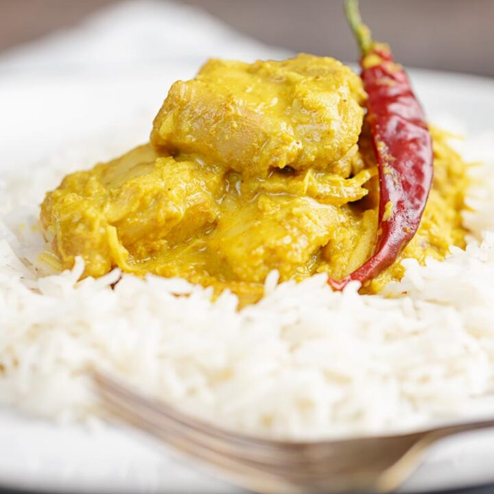 Indian Coconut Chicken Curry Recipe