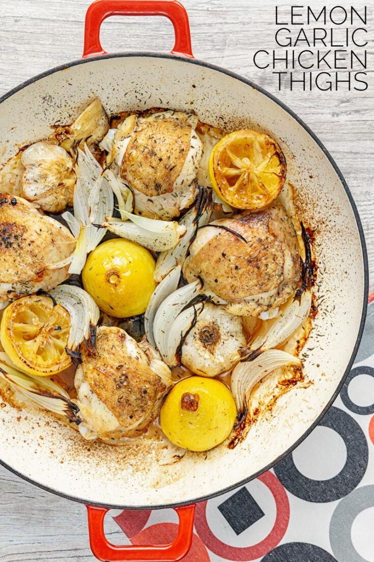 The very essence of simplicity and packed with zing and this lemon and garlic chicken recipe can be on your plate in 40 minutes.