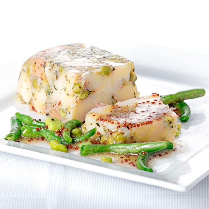 Pea & Potato Vegetable Terrine