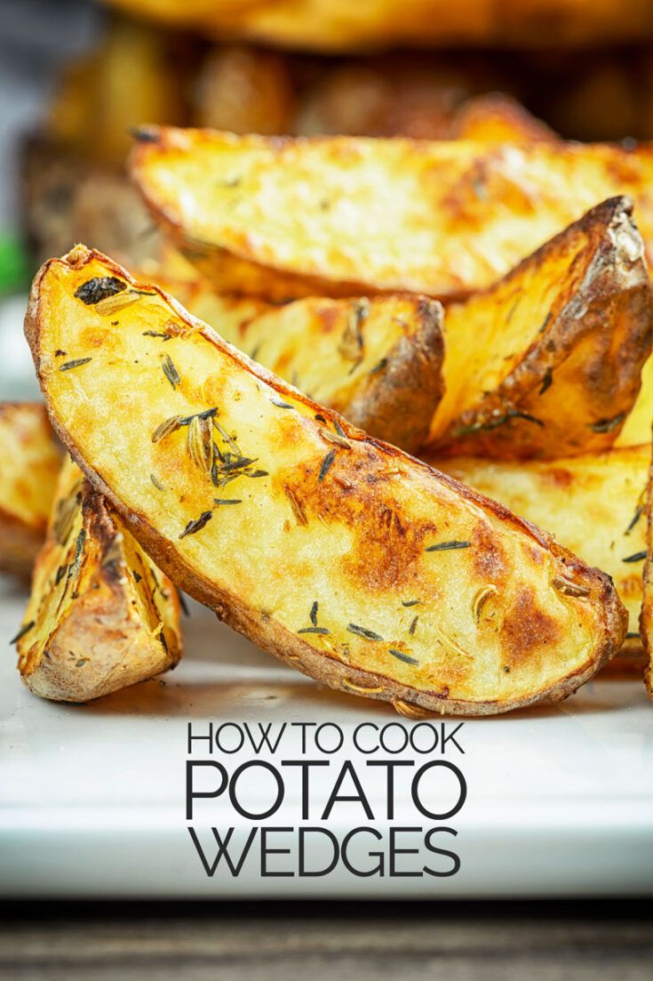 With instructions for the Air Fryer and conventional oven and seasoning guidelines this recipe helps you cook perfect potato wedges everytime