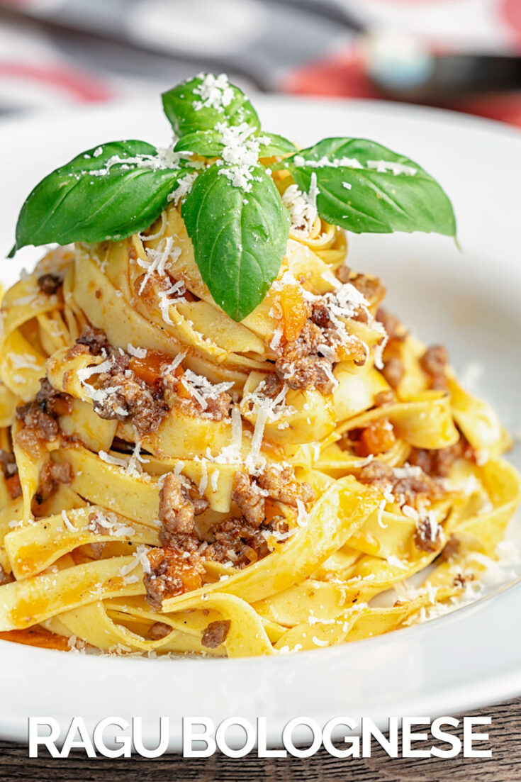 The very traditional and delicious Italian Ragu Bolognese Meat Sauce recipe contains instructions for both slow cooker and stovetop preparation.