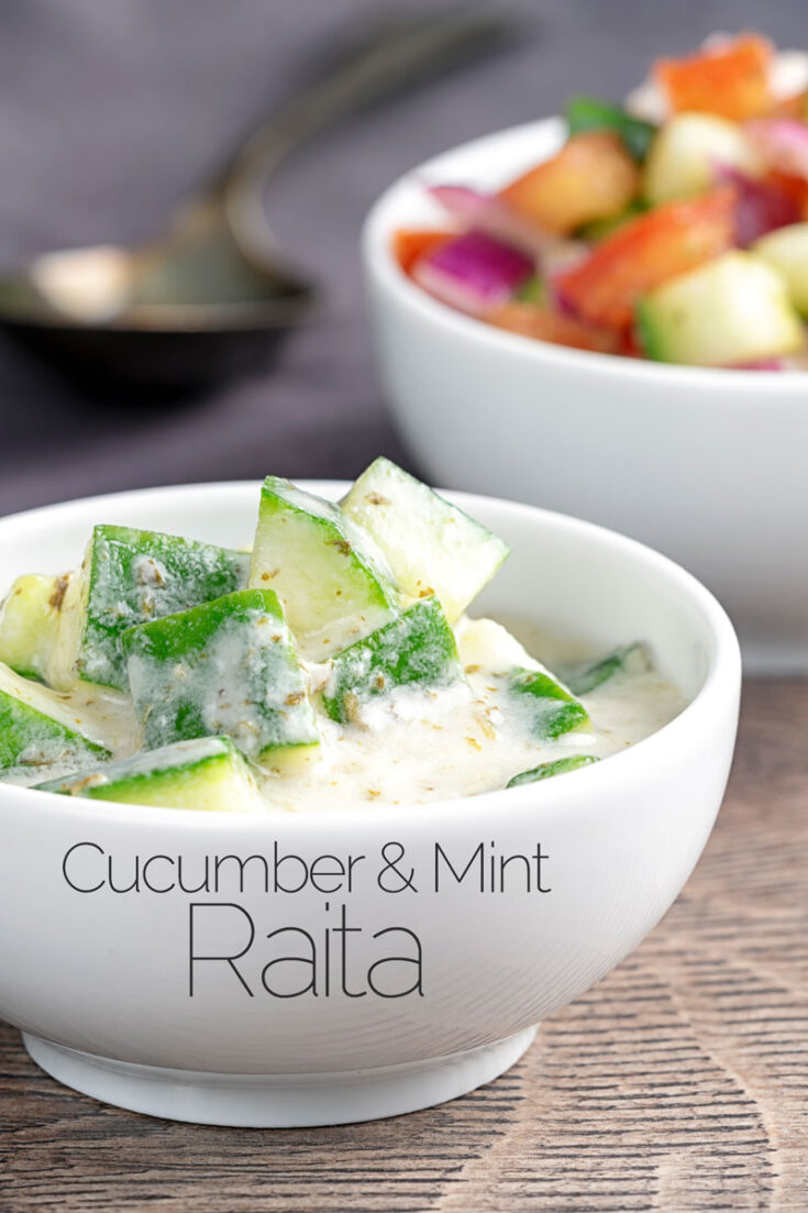 This simple cucumber and mint raita recipe uses a common household sauce to create a quick cheats recipe that tastes fantastic!