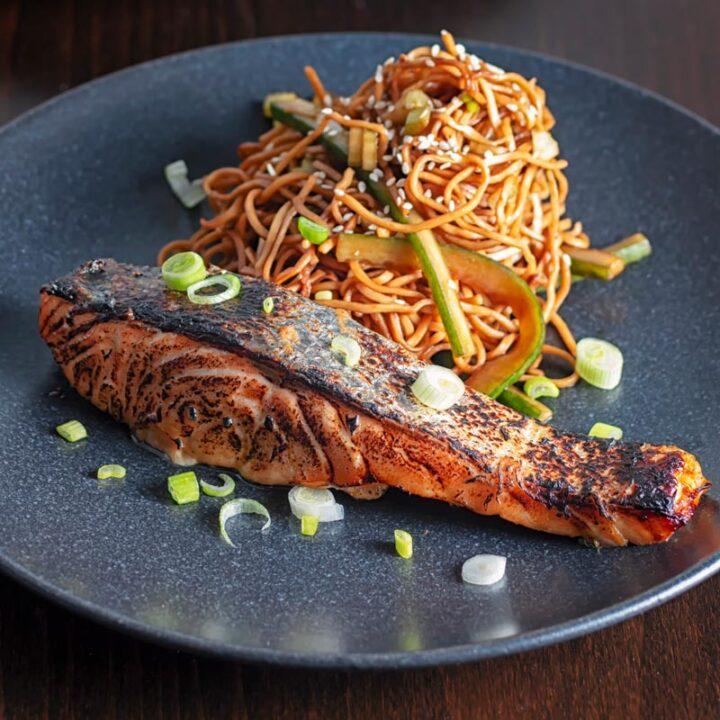 Grilled Korean Salmon Recipe