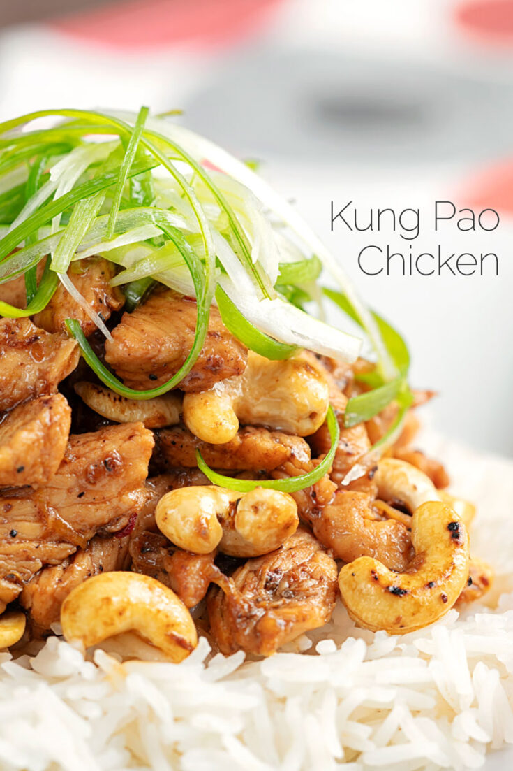 Kung Pao Chicken is a classic Chinese dish from the Szechuan region however it has long become a classic staple of the Westernised take away and this is my version! It is a perfect weeknight dinner as it ready in 30 minutes #chinesefood #chickenrecipes