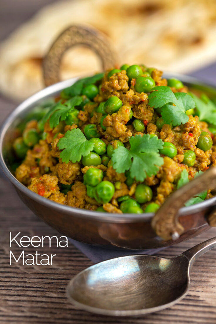 Keema matar is a classic Pakistani curry recipe featuring lamb or mutton and peas that are generously spiced, this is real comfort food!